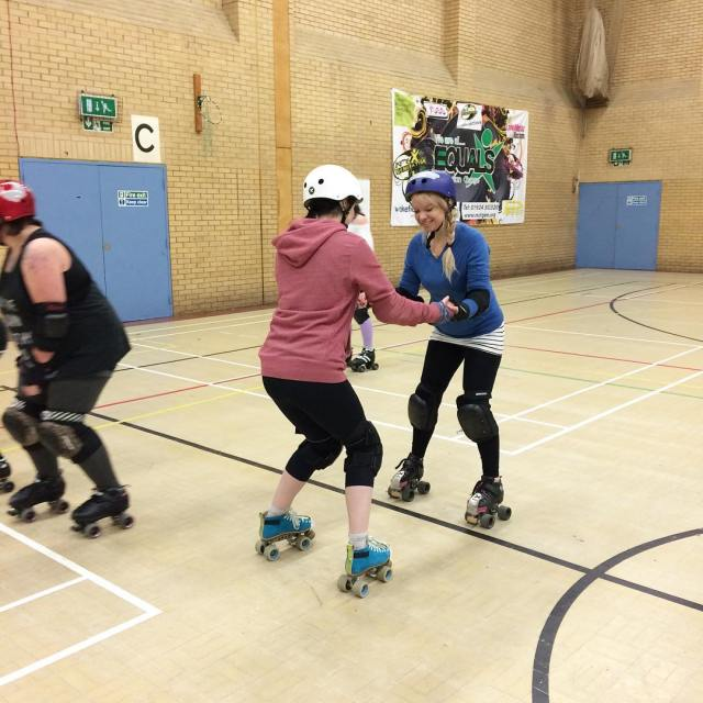 roller derby beginners training
