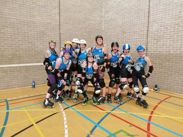 wakey wheeled cats team shot