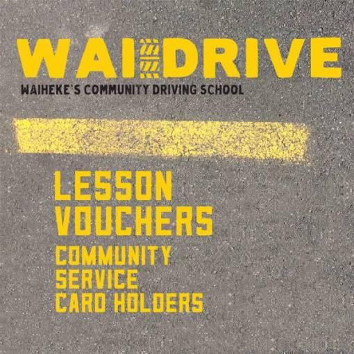 Community Card Driving Lesson Vouchers