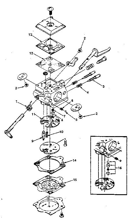Walbro Carb Diagram 210 Wt600