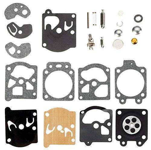 QAZAKY Carburetor Diaphragm Gasket Rebuild Repair Kit for
