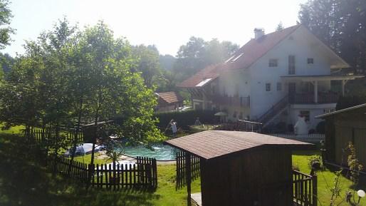 Wald Swimmingpool