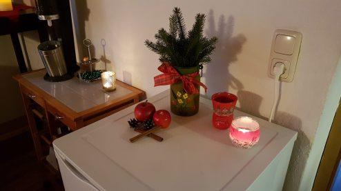 Weihnacht in der Ferienwohnung Wald Kobel