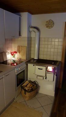 Küche zur Weihnacht Ferienwohnung Wald Kobel