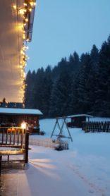 Winter Ferienwohnung Wald Kobel