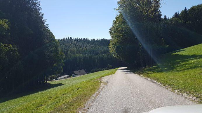 Zielgerade Güterweg Jagleck