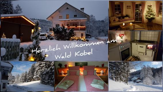 Weihnachten Ferienwohnung Wald Kobel