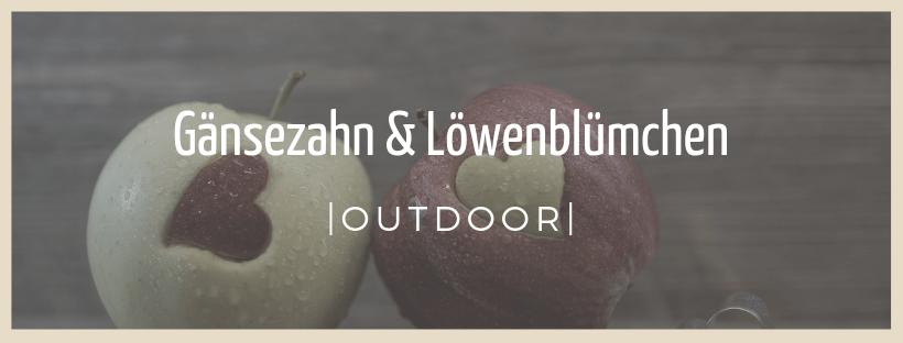 Gänsezahn und Löwenblümchen - Outdoor