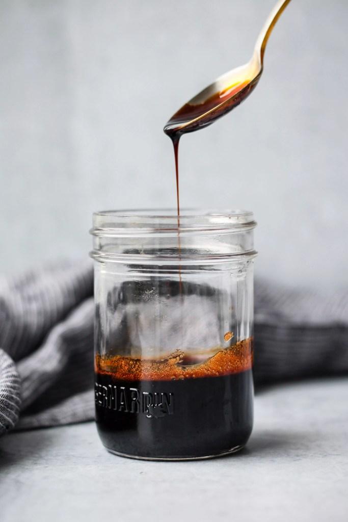 homemade balsamic reduction