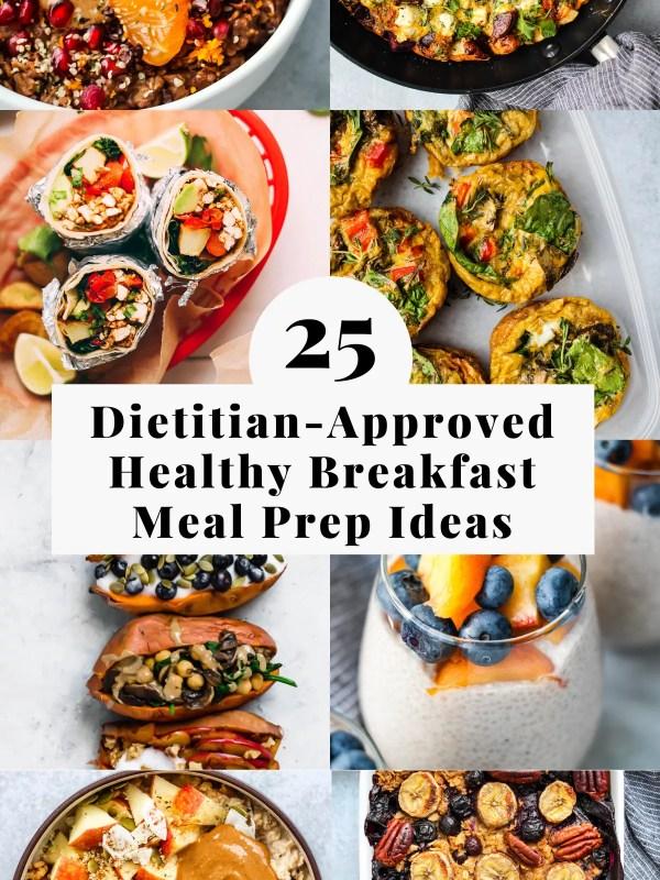 healthy breakfast meal prep ideas
