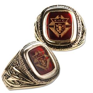Mens Knights Of Columbus Ring