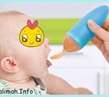 botol susu sendok untuk asi