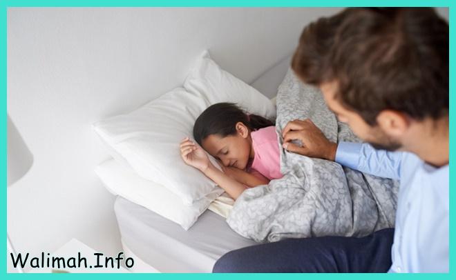 cara membangunkan anak dari tidur