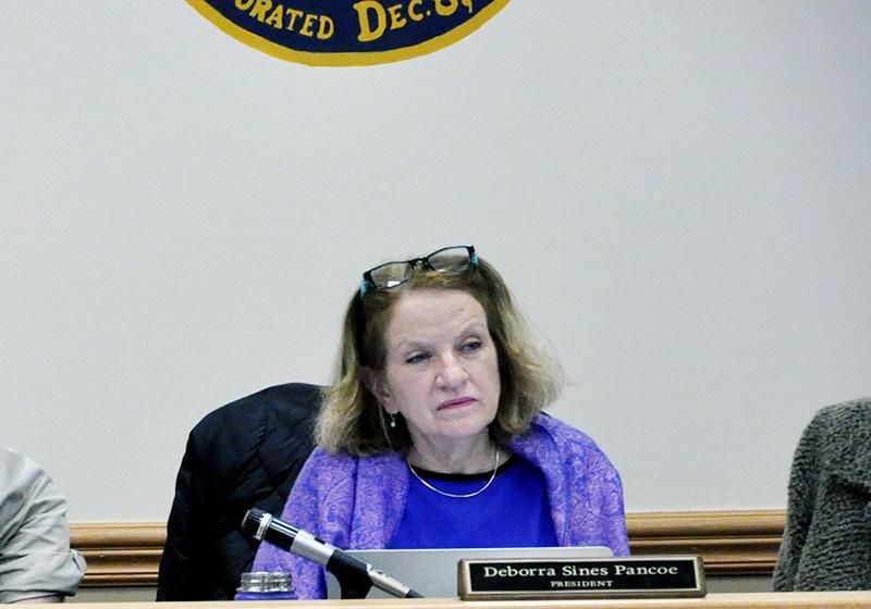 Jenkintown Council President Deborra Sines-Pancoe