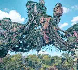 Floating mountains in pandora avatar