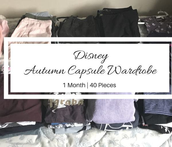 Autumn Capsule Wardrobe: What to wear to Disney World