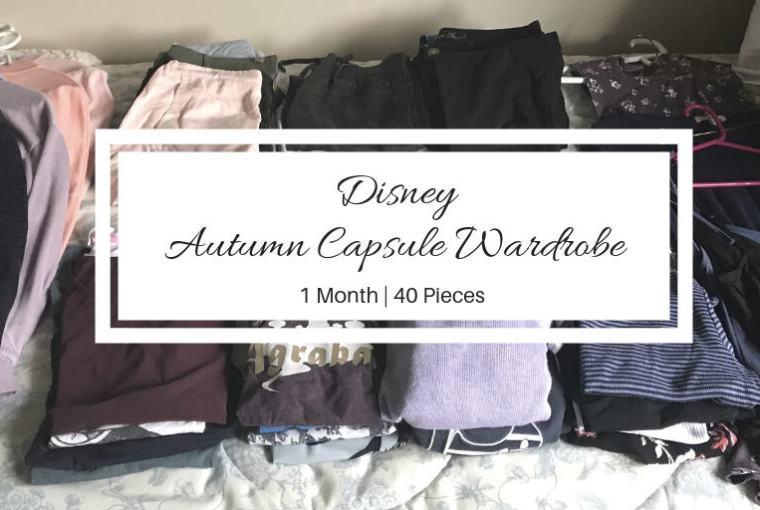 autumn disney capsule wardrobe collection
