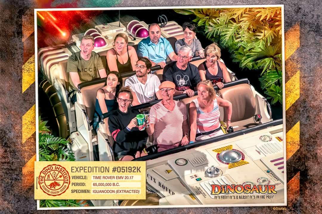 DINOSAUR ride at Disney's Animal Kingdom
