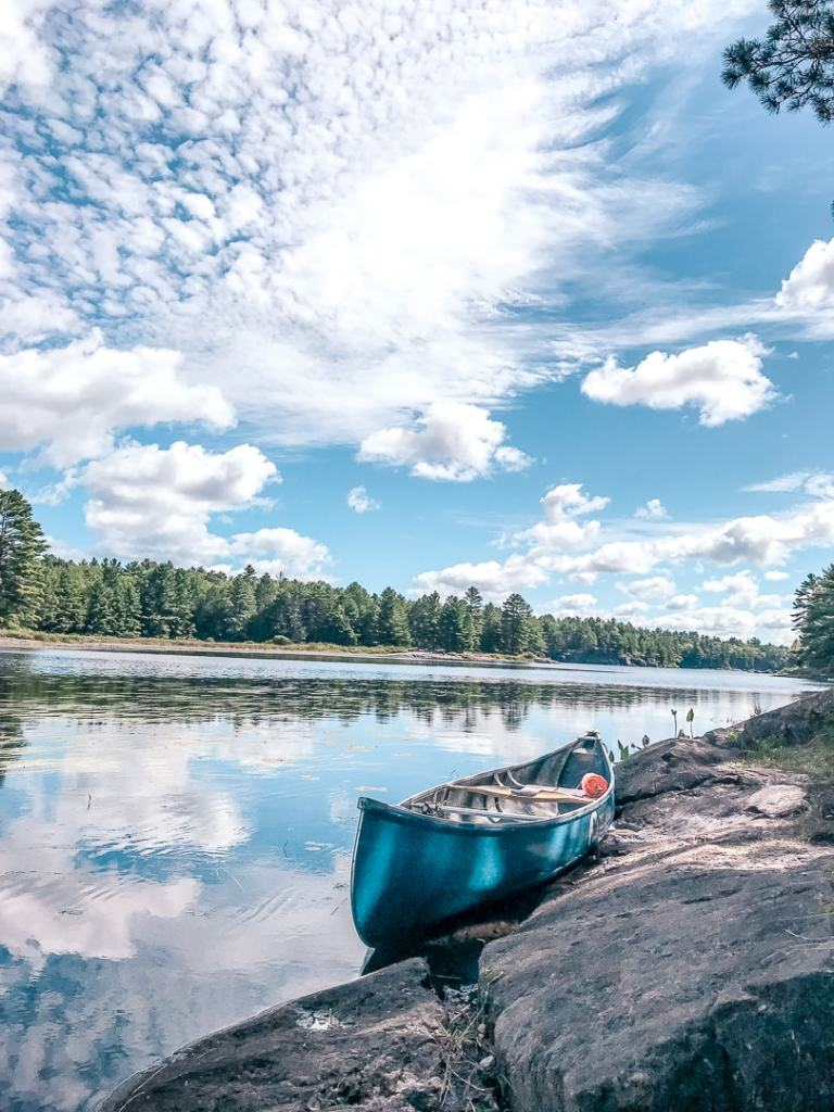 kawartha highlands provincial park canoeing