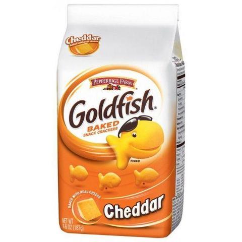 goldfish travel snack