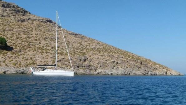 Crociera in barca vela Tilos Dodecaneso Grecia