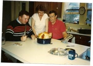 Jeff, Mom, & Dad circa 1990's