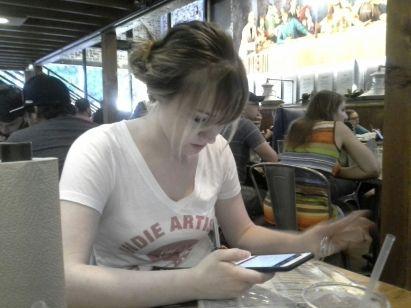 Anna at LSA
