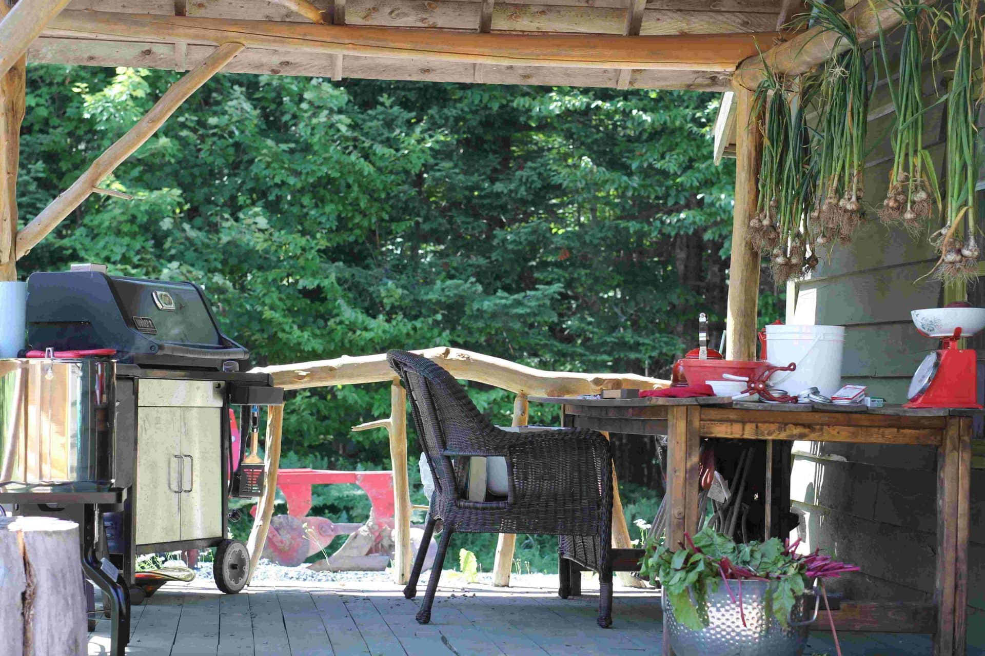 Outdoor Canning Kitchen The Homestead Kitchen Tips For Creating A Practical Rustic Self
