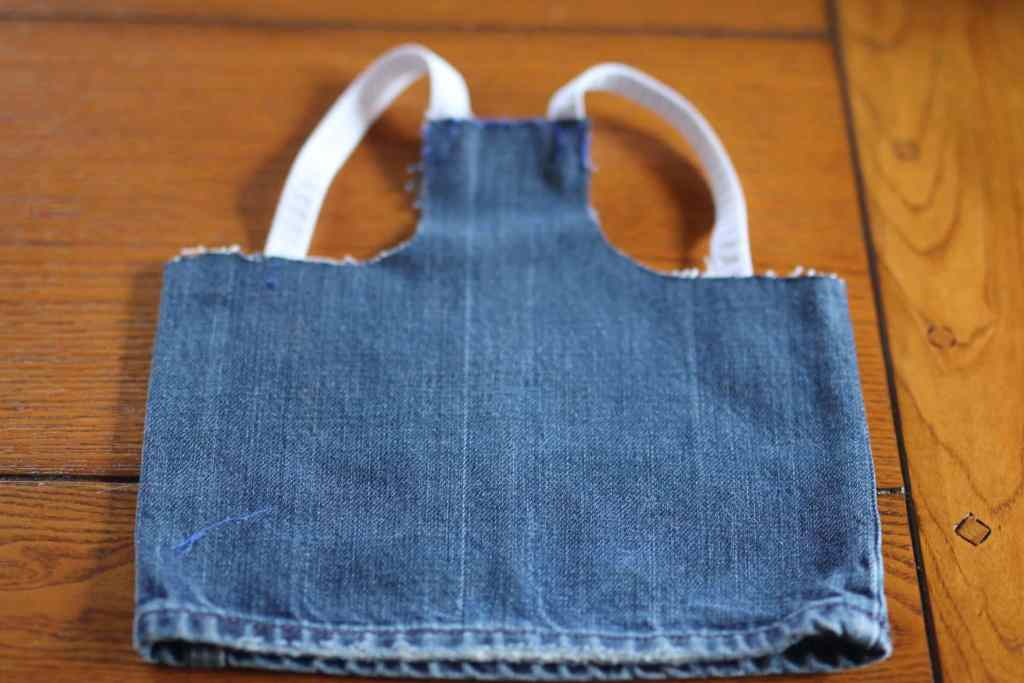 Simple Pattern for Protective Chicken Saddle DIY