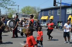 Parade a band