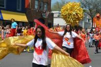 Parade firebirds