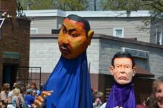 Parade two ancestors