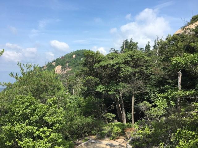 Picture on top of Mt. Misen on Miyajima Island