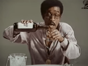 Sammy Davis Jr Suntory Whisky Commercial Ad Lib 1974