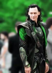MCU Loki as played by Tom Hiddleston