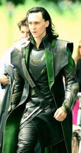 Loki as played by Tom Hiddleston