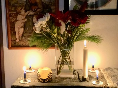 Community Altar December 2018 - Winter Solstice
