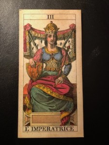 A miniature of the Empress card