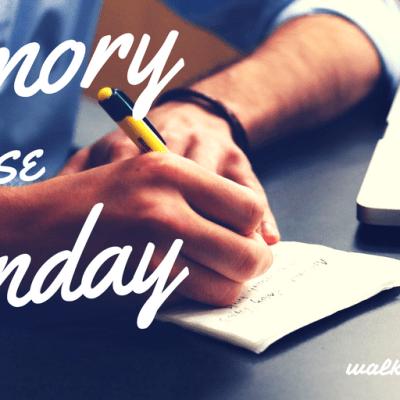 Memory Verse Monday - Week 1