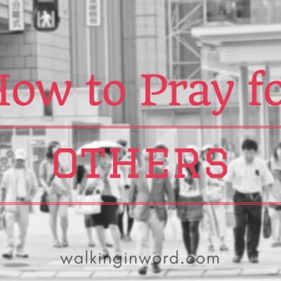 How to Pray for other - Feature Image