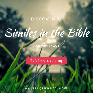Discover 31 Similes in the Bible - Sidebar signup