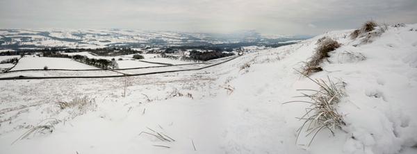 Ilkley Moor in the Snow