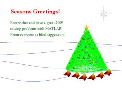 MATLAB Christmas card