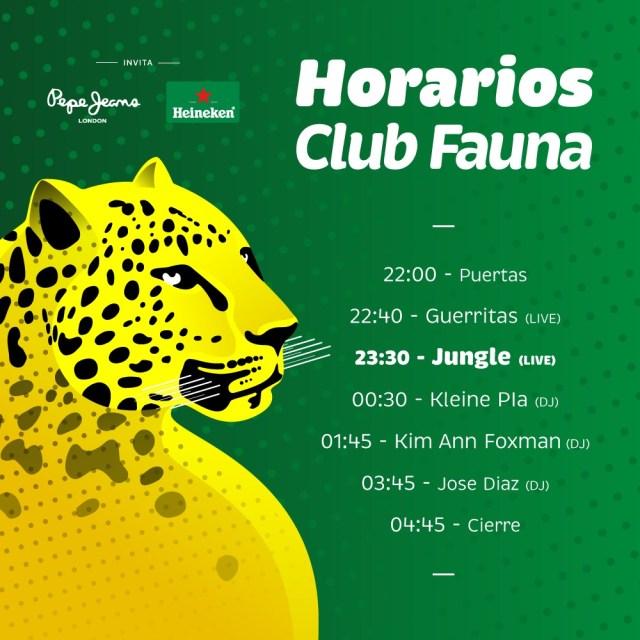 Horarios-JUNGLE