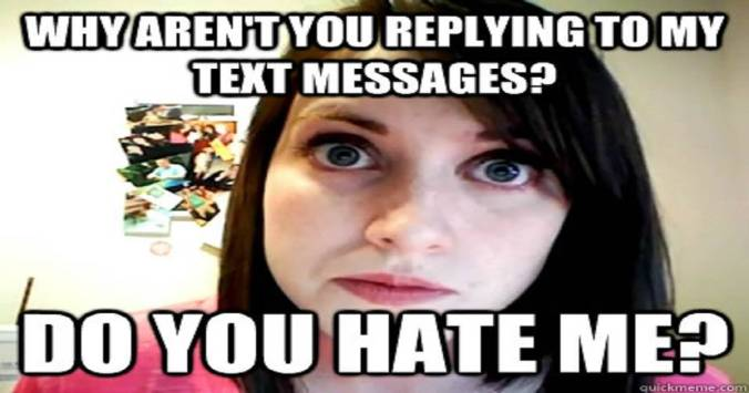 Dating Pressures Overly Attached
