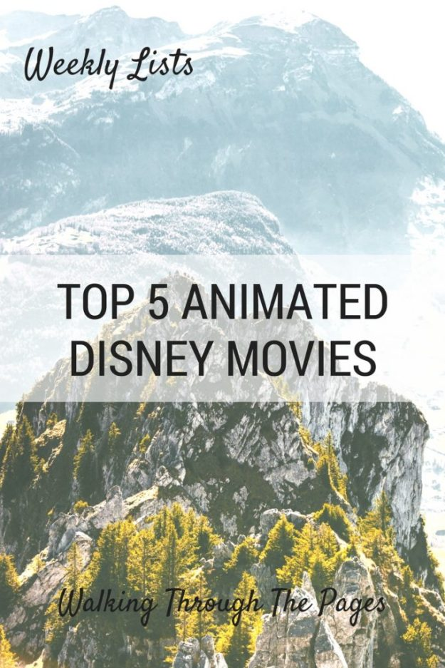 53 Weekly Lists Animated Disney Movies