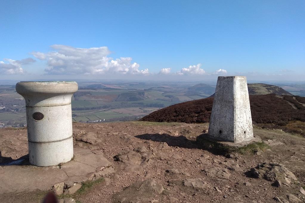top of eildon hills