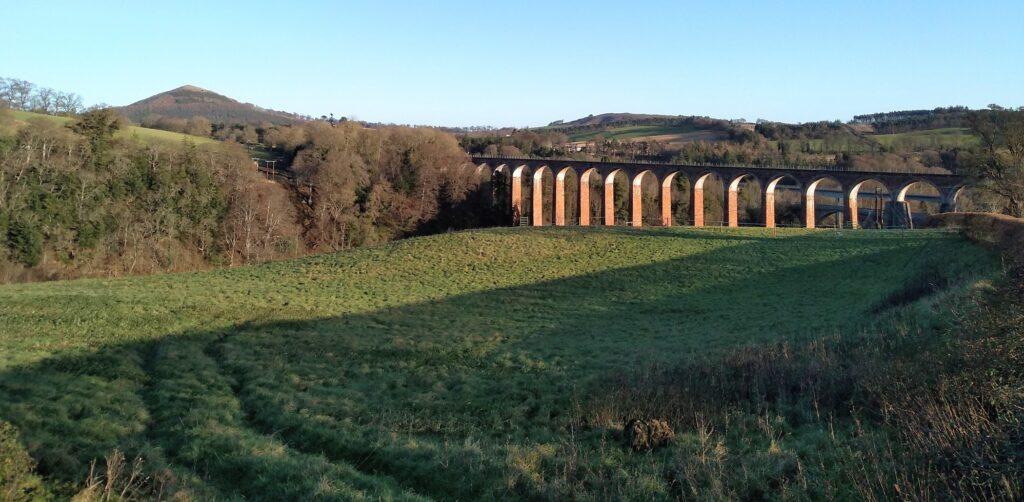 leaderfoot viaduct photo