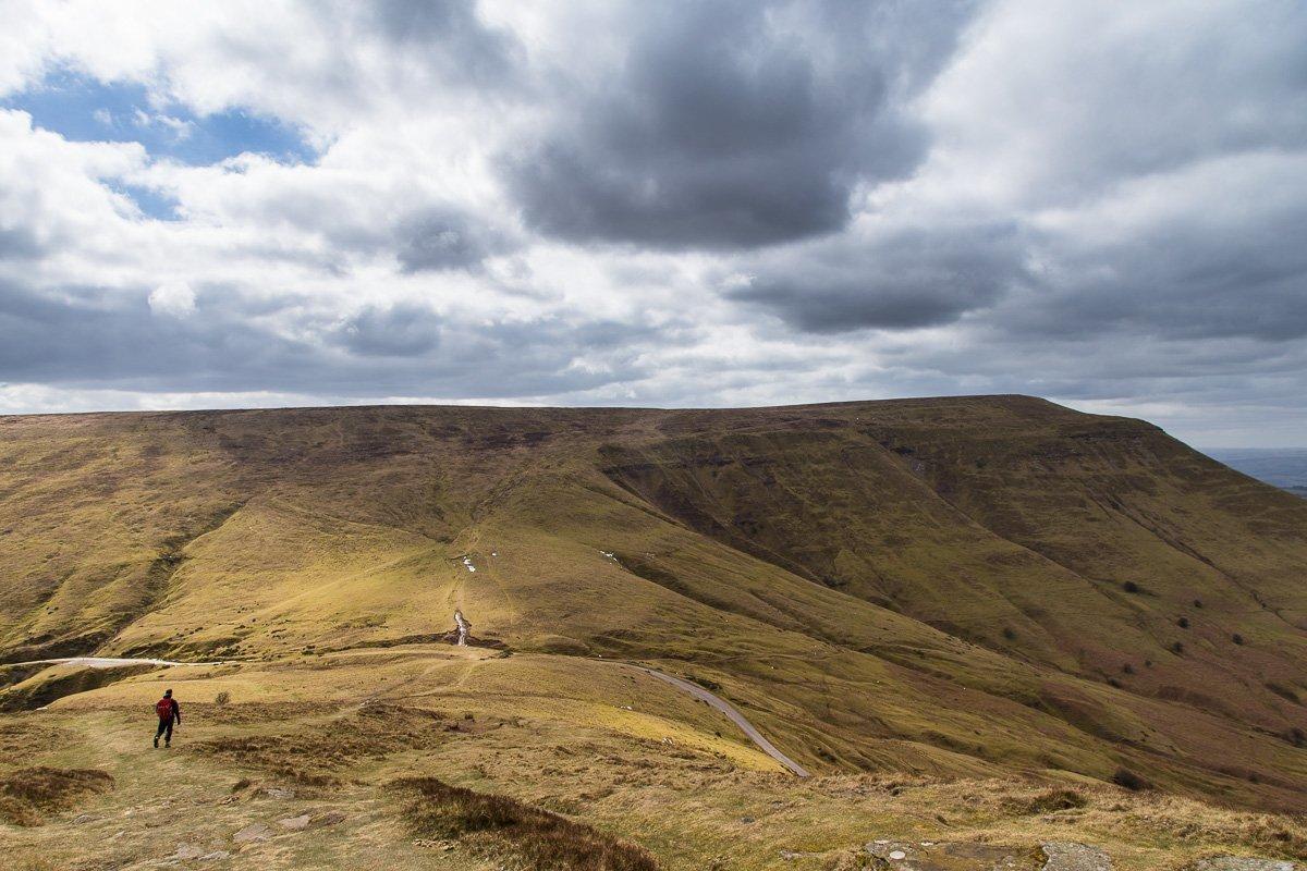 Offa's Dyke fromPandy to Y Gelli Gandryll / Hay-on-Wye