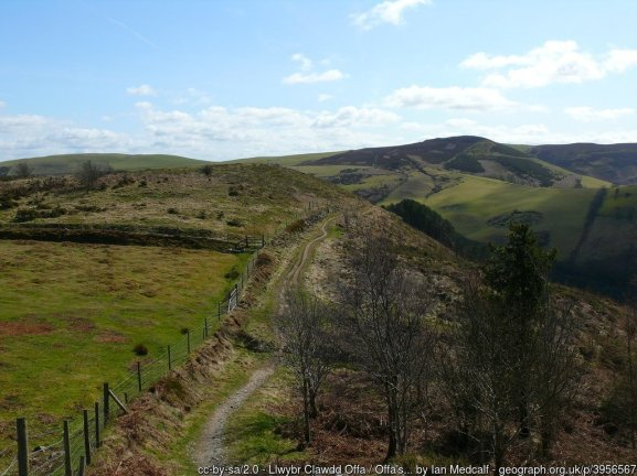 Offa's Dyke fromLlandegla to Bodfari